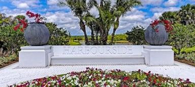 Harbourside monument sign