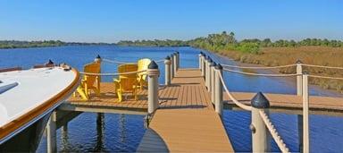 RiveIsle Dock in Florida boating community