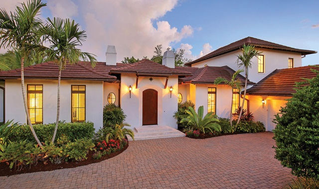 Waterfront Custom Home in Florida